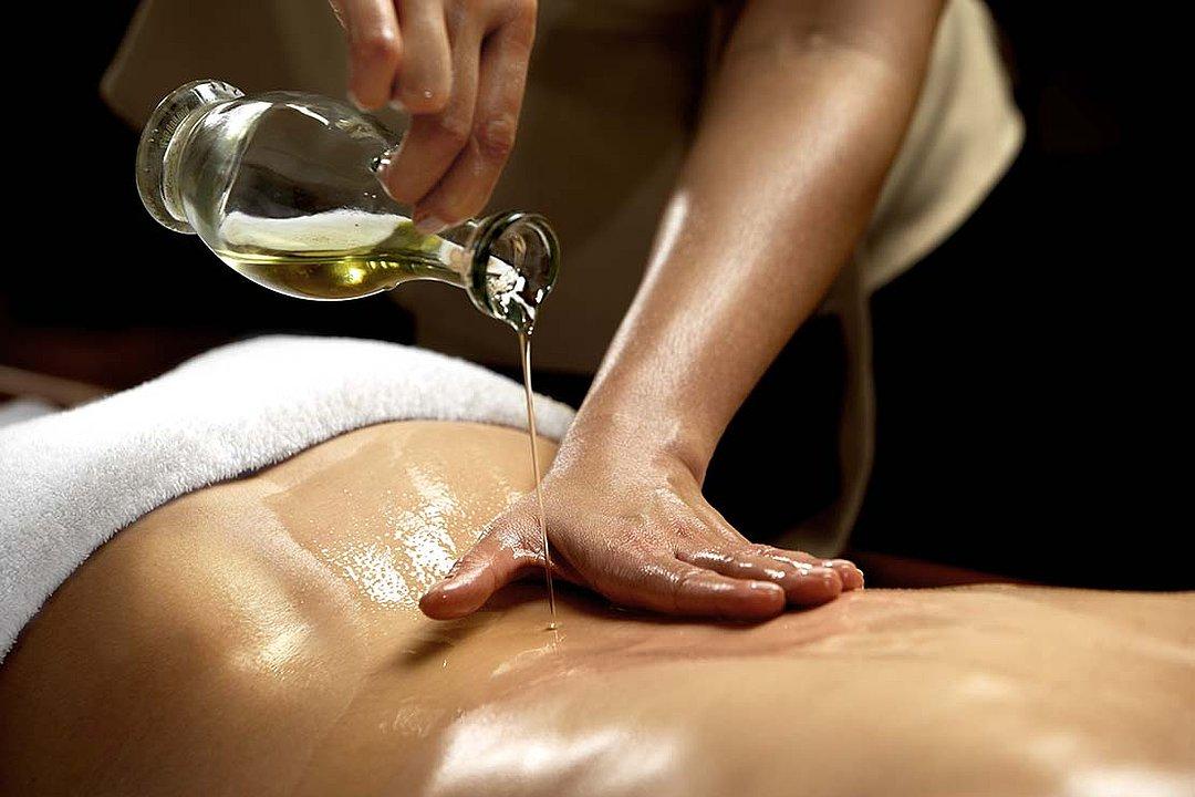 Salón con masaje erótico con aceite Valencia